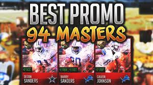 best promo all year free 94 ovr master players madden mobile 18