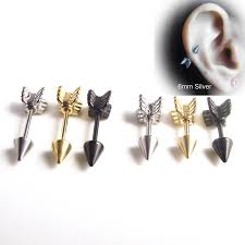 surgical stainless steel earrings 56 black surgical steel earrings new designer gold plated