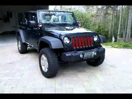 jeep wrangler unlimited painted grill grill mod youtube
