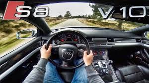 audi s8 v10 turbo audi s8 v10 test drive 5 2 fsi sound