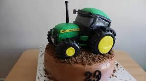 tractor cake topper tractor deere cake deere tort