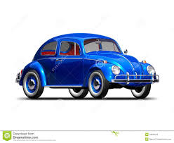 old blue volkswagen old vw beetle royalty free stock photos image 12699118