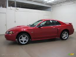 mustang gt 1999 red lazer laser red metallic 2002 ford mustang