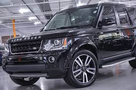 2016 land rover lr4 black pre owned 2016 land rover lr4 hse lux landmark edition suv in