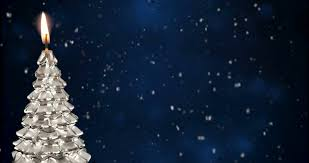 snowy christmas pictures christmas tree on red snowy background rotating loop stock video