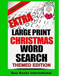 amazon com extra large print word search volume 1 9781503227293