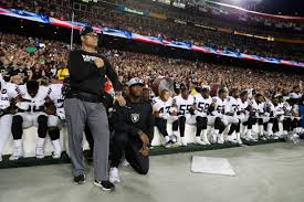 When The Biggest Annual Football Game Comes To Town Most Oakland Raiders Sit In Protest At Washington After Donald