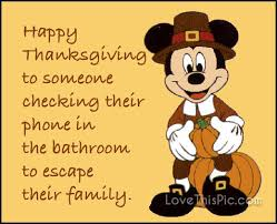 happy thanksgiving to someone inspiration sarcasm and well