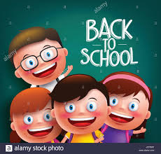 classmates search classmates kids vector characters with smart happy faces for back