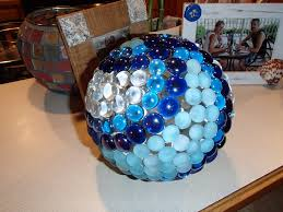Gazing Ball Pedestals Made This With Dragon Tears Glass Drops Silicone And A Glass