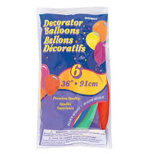 oversize balloons colored balloons rainbow party decorations
