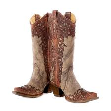 corral womens boots sale corral sand cognac lace overlay snip toe boots