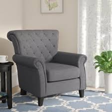 Linen Club Chair Linen Accent Chairs You U0027ll Love Wayfair