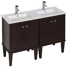 60 Inch Bathroom Vanity Double Sink by Amimage 48 Inch Double Sink Birch Wood Veneer Bathroom Vanity