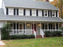 colonial style home interiors view exterior house colors with red door style home design