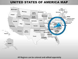 map usa virginia state usa virginia state powerpoint county editable ppt maps and templates
