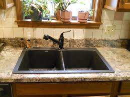 wilsonart winter carnival laminate with blanco diamond anthracite sinks