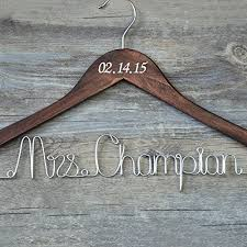 wedding dress hanger custom wedding hanger with date personalized bridal