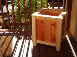 Wooden Planter Box Plans by Build A 20 Planter Box Woodworking For Mere Mortals