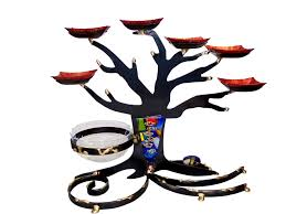passover seder supplies passover gifts sculptural tree of seder plate