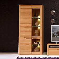 Wohnzimmerschrank Vitrine Wohnzimmerschrank Kernbuche Alle Ideen Für Ihr Haus Design Und Möbel