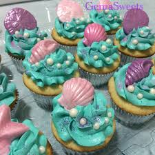 Under The Sea Nursery Decor by Under The Sea Mermaid Cupcakes By Gema Sweets My Creations