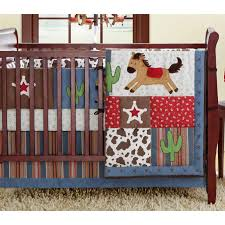 Cowboy Crib Bedding by Cowboy Baby Wrangler Western Crib Bedding Set Color Red 13