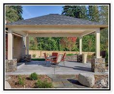 Patio Cover Plans Free Standing by Everson Detached Patio Cover Things For My House Pinterest