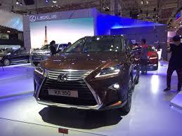 xe lexus moi nhat những lý do khiến lexus rx 350 2017 u201ccháy hàng u201d khi mở bán