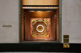 designboom hermes levi van veluw creates window display for hermès new york