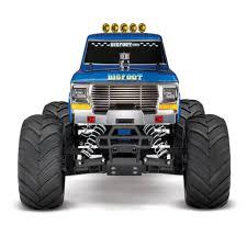 bigfoot 3 monster truck traxxas 1 10 bigfoot 1 the original monster truck blue