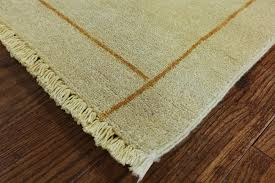 6x9 Wool Area Rugs New Modern Ivory Geometric Knotted Gabbeh Lori Buft 6x9 Wool