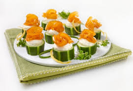 cucumber canapes recipe smoked salmon and cucumber canapés saq com