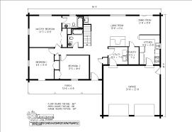 simple blank floor plan