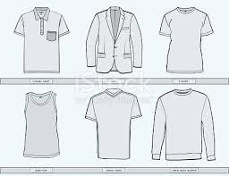 mens clothing templates stock vector art 531187882 istock