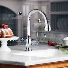 Grohe K4 Kitchen Faucet Grohe 33 870 Zb0 Bridgeford Dual Spray Pull Out Kitchen Faucet