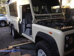 land rover defender 2017 6x6 6x6 defender off road camper build page 14 expedition portal