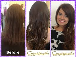 design lengths hair extensions great lengths hair extensions colour 4 5 9 40cm classic fusion