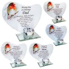 new memorial glass robin t light candle holder festive