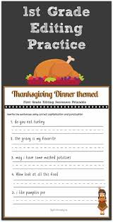 math free printable writing worksheets for 1st grade thanksgiving