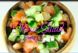 inter cuisines shiraz salad recipe how to salad shirazi international