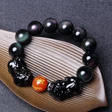 man bracelet stone images Usd 55 46 hyun man rainbow eye obsidian bracelet men 39 s beads jpg
