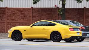 2018 ford mustang spied with black accent package