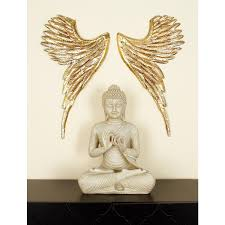 home depot wall decor 13 in x 24 in modern angel wings metal wall decor 30053 the