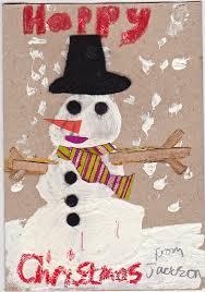 handmade christmas cards the snowman mrs fox u0027s life home