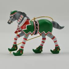 the trail of painted ponies ornaments pony figurines