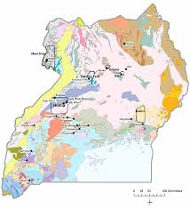 Map Of Uganda Geochemical Surveys In Uganda Pdf Download Available