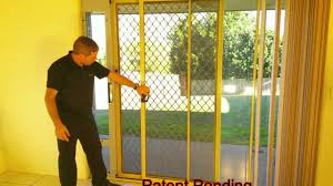 Pet Door For Patio Door by Best Way To Lock Your Patio Pet Door Patiolocktm System Youtube
