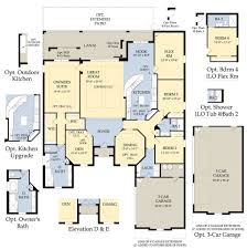 Florida Homes Floor Plans by The Plantation In Ft Myers