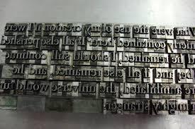 letterpress printing letterpress printing pages